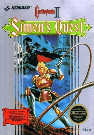 Castlevania II NES Simons Quest